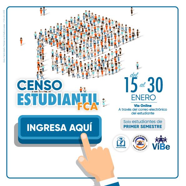 Censo Estudiantil FCA