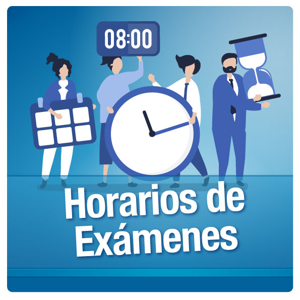 Horarios de exámenes del segundo parcial y mejoramiento correspondiente al periodo 2019 – 2020 CI