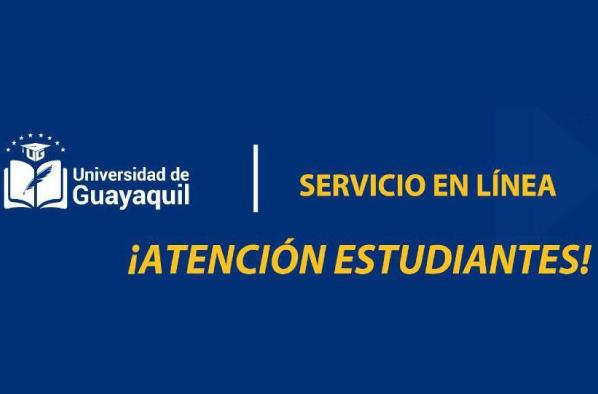 SERVICIO EN LÍNEA UG Coordinación de Formación Académica y Profesional.